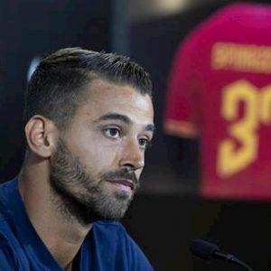 Roma Spinazzola infortunio Genoa Lazio rischio