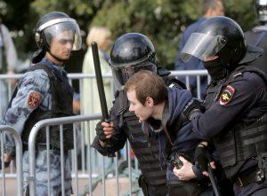 Arresti a Mosca