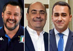 Salvini, Di Maio, Zingaretti: politicanti non statisti, De Gasperi direbbe che...