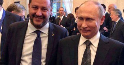 Putin e Trump uniti per una Europa debole dietro il sovranismo di Salvini