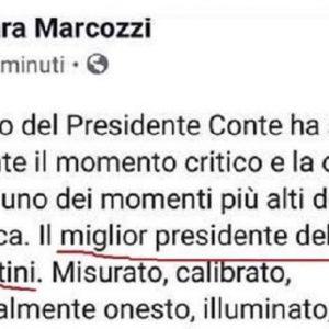 Il post di Sara Marcozzi