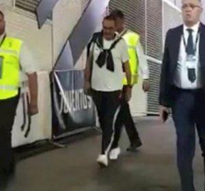 Sarri Juventus Napoli FOTO seguito partita box Stadium