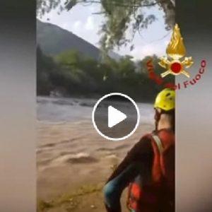 serio piena improvvisa fiume