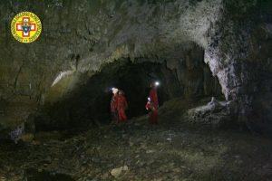 Speleologo intrappolato in grotta