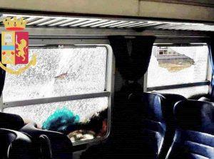 Milano, distruggono vagone di un treno: presi tre giovani