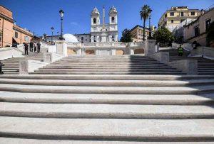La scalinata di Trinità dei Monti