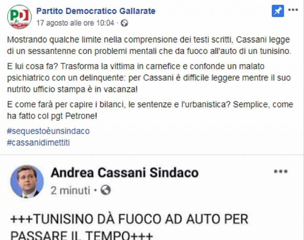 post pd gallarate