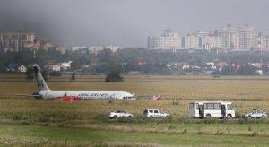 L'aereo della Ural Airlines