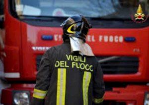 vigili del fuoco, foto ansa