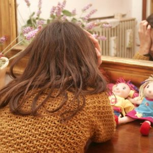 Violenta figlia 2 anni e mezzo