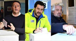 """Salvini: """"Voto subito!"""". Renzi e Grillo: """"Folle farlo adesso"""". Ma non decide nessuno di loro"""