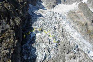 Monte Bianco, ghiacciaio Planpincieux a rischio crollo: è una massa da 250mila metri cubi
