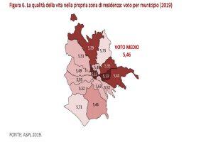 Qualità della vita a Roma, la mappa municipio per municipio