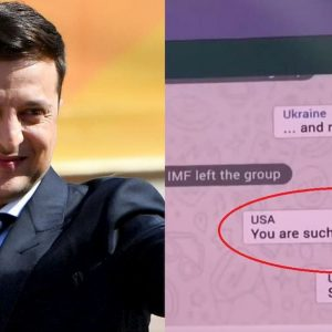 Volodymyr Zelensky e la finta chat su WhatsApp tra i leader mondiali