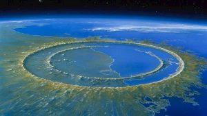 La ricostruzione dell'arrivo dell'asteroide in Messico