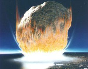 Asteroide ed estinzione dinosauri