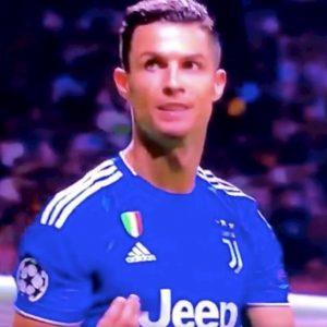 Atletico Juve Cristiano Ronaldo gesto