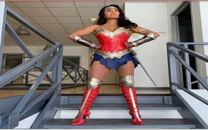barbara d'urso wonder woman