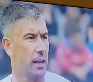 Bologna Roma Kolarov arbitro come c... si chiama? Labiale lo inchioda