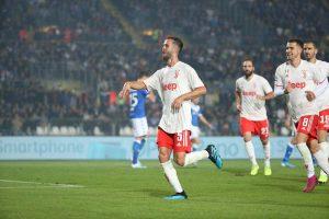 Brescia Juventus 1 2 gol Pjanic