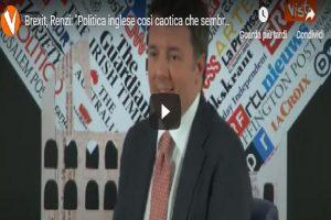 Matteo Renzi, video Vista