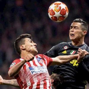 Champions Atletico Juventus Dinamo Atalanta gol risultato marcatori