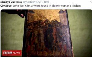 Cimabue: ritrovato in Francia il Cristo deriso