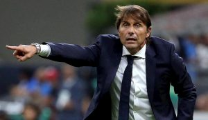 Conte Sarri lite distanza Inter-Juventus