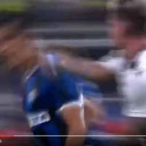 De Paul Inter Udinese espulsione var video youtube