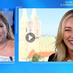 """Domenica In, Romina Power No Vax: """"Troppi vaccini oggi"""". La figlia Cristel: """"Mi fido dei medici"""""""
