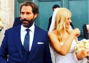 Eleonora Daniele e Giulio Tassoni sposi