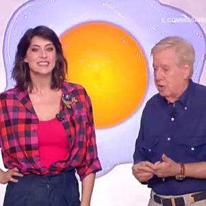 """La Prova del Cuoco, Claudio Lippi a Elisa Isoardi: """"Spero non rimani incinta"""" VIDEO"""