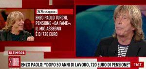 """Storie Italiane, Enzo Paolo Turchi: """"Prendo 720 euro di pensione, vi sembra giusto?"""""""
