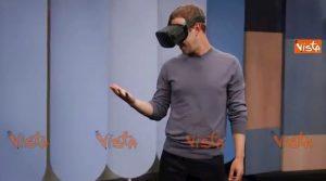 """Mark Zuckerberg: """"Ecco come useremo le mani nella realtà virtuale"""" VIDEO"""
