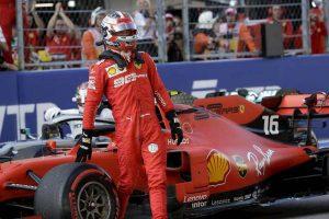 Formula 1 Russia griglia partenza Leclerc pole Hamilton Vettel