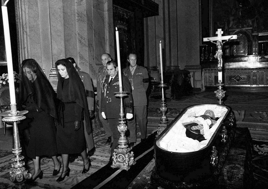 funerali franco 1975