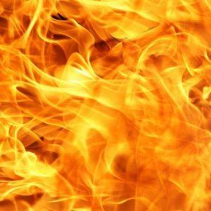 Incendio in ospedale