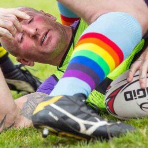 Gareth Thomas ha l'Aids: lo ha detto in un documentario. E' stato capitano della nazionale di rugby del Galles