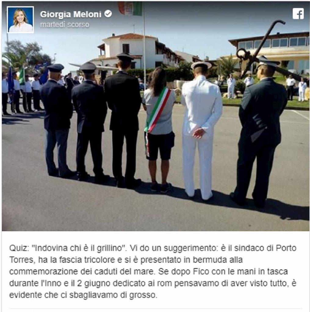 sindaco porto torres bermuda