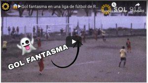 Gol fantasma incredibile video YouTube dall'Argentina