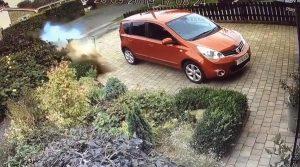 auto incidente strada privata