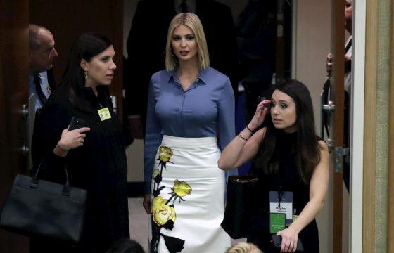 Ivanka Trump all'Onu senza reggiseno? Le foto sembrano non lasciare dubbi...