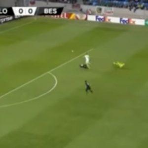 Karius, papera in Slovan Bratislava-Besiktas di Europa League VIDEO