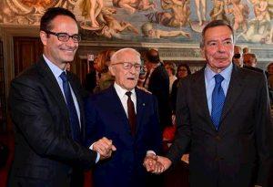Sergio Lepri compie 100 anni. Gli auguri della Fnsi allo storico direttore dell'Ansa