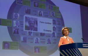 Ursula von der Leyen presenta la sua commissione