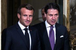 Macron Conte accordo emergenza sbarchi