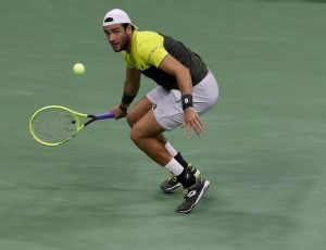 Matteo Berrettini Finals Djokovic infortunio spalla stagione finita