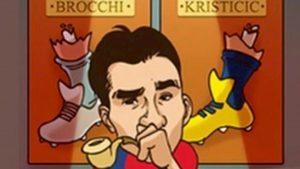 Matuzalem vignetta Kristicic Brocchi foto Instagram scatena bufera social