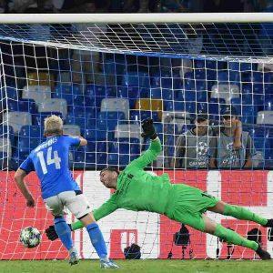 Napoli Liverpool gol Mertens