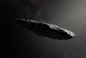 Oumuamua cometa interstellare sistema solare
